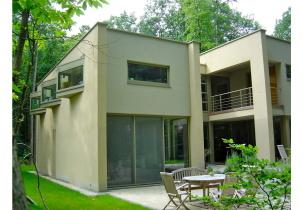 vrijstaande nieuwbouw woning door Bram Janssens Architect